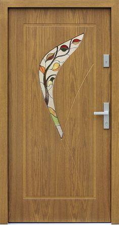 Dębowe wejściowe drzwi zewnętrzne 458,5+ds51 winchester