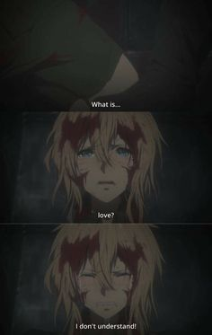what is it Violet Evergarden Sad Anime Girl, Anime Art Girl, Anime Guys, Violet Evergarden Gilbert, Sad Anime Couples, Violet Evergarden Wallpaper, Manga Anime, Violet Evergreen, Violet Evergarden Anime