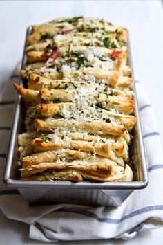 Little Market Kitchen: Rosemary, Prosciutto, and Asiago Pull Apart Bread