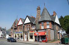 Aberfoyle, Scotland, Post Office and Shops