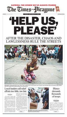 KATRINA ♦ 02.09.05 -  The Times-Picayune (EE.UU).#HurricaneKatrina #Katrina #Hurricane #HuracanKatrina #Huracan #GeorgeBush