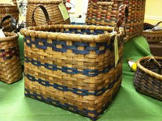 Storage Basket by CarolynsBaskets on Etsy, $52.00