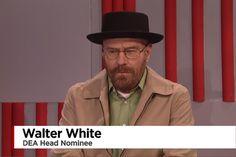 Trump Appoints Walter White as DEA Head on Saturday Night Live
