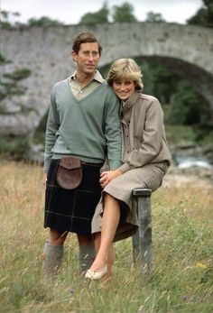 Pin for Later: Inside the Queen's Balmoral Photo Album Charles and Diana spent some of their honeymoon in Balmoral Exactly one year earlier, it was also where it became public knowledge that the pair were in a relationship.
