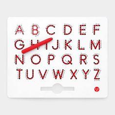 アルファベット マグネット タブレット 大文字