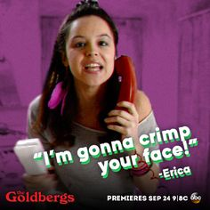#Erica #TheGoldbergs