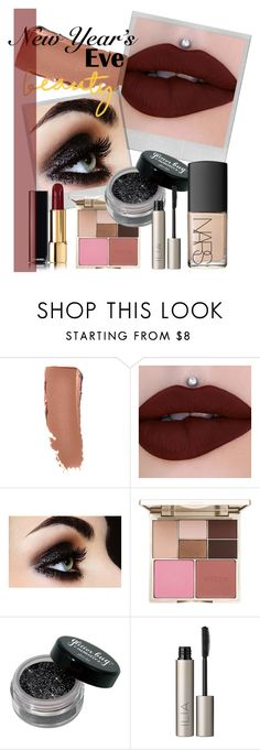 """""""New Years Eve: Makeup Look"""" by jazmin98 ❤ liked on Polyvore featuring beauty, Polaroid, Stila, Ilia, NARS Cosmetics, makeup, holiday and NewYearsEve"""
