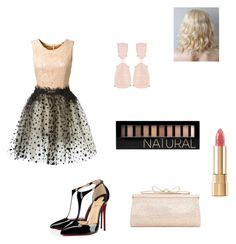 """fashion show"" by fleurameliedelacour ❤ liked on Polyvore featuring Loyd/Ford, Christian Louboutin, Forever 21, Dolce&Gabbana, Kendra Scott and Judith Leiber"