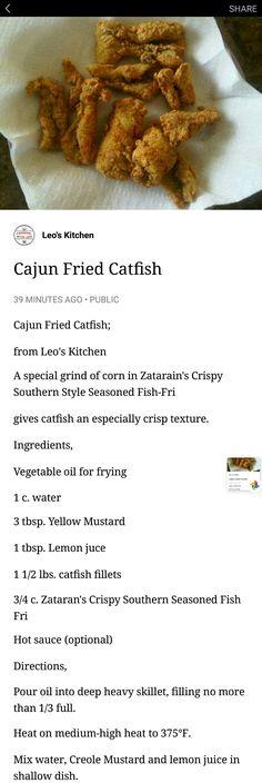 Leo's Kitchen fried catfish