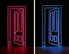 Gavin Turk lights up The Bowes Museum in Durham with a new exhibition of neon… Light Up Words, Gavin Turk, Neon Artwork, Instalation Art, Infinity Mirror, Neon Aesthetic, Aesthetic Bedroom, Neon Wallpaper, 3d Studio