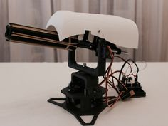 Rubber bands sentry gun by tristomietitoredeituit - Thingiverse  #3dprinters  Please join our Sociable chat and have a new look at our website for specials on 3d scanning and enjoy our coaching articles. http://www.3d-printing-sa.co.za/pages/prusa-i3-3d-printer