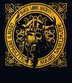 BLACK LABEL SOCIETY cd lgo ODINS DEMO DEMOLITION SQUAD Official SHIRT MED New