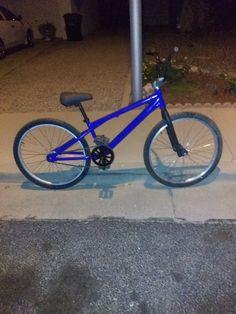 BOSS Racing Products BMX Light Blue BOSS 24 Yellow Black Bike DECAL SET