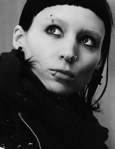 Rooney Mara as Lisbeth Salander in 'The Girl With The Dragon Tattoo' - 2011