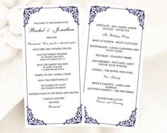 the 37 best diy wedding programs images on pinterest diy wedding