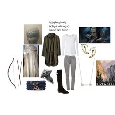 Legolas!! by daphnee2ada2collier on Polyvore featuring Madewell, White Stuff, J Brand and Nicole Miller