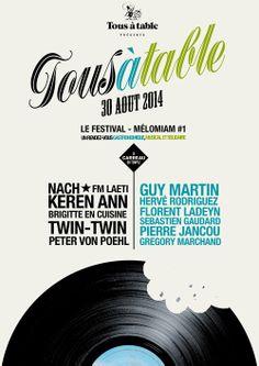Festival Tous à Table ke 30 août 2014