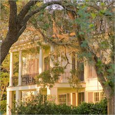 Beaufort, South Carolina. Impressive antebellum architecture. Beaufort was chosen 'Best Small Southern Town' by Southern Living magazine.