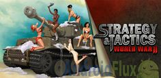 If you like strategic games, here is a great Android game for you titled'Strategy & Tactics: World War 2'. It is developed by the popular Android game developer called 'HeroCraft'.