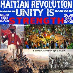 Happy Haitian Heritage Month. Read about Haiti's rich history at Facebook.com/SanCophaLeague or SanCophaLeague.tumblr.com