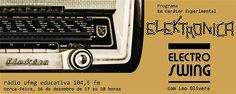 Programa 04 - Electro Swing Flyer para painel do Facebook