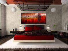 Elegáns modern vászonkép, fantáziadús absztrakt motívumokkal. Engedd, hogy magával ragadjon a képzelet és a fantázia. Absztrakt vászonkép - www.residenceharmony.hu
