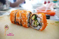 Sushi maken, California rol