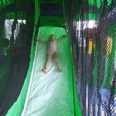 Slide Inside Sponge Bob Square Pants Bouncy Castle  #bouncycastle #spongebob #slide #play #toys #kids