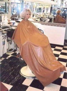 PVC Salon Capes