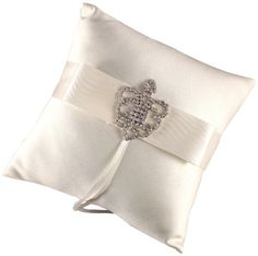 Weddingstar Beverly Clark The Crowned Jewel Collection Ring Pillow Ivory ** Check out this great product.