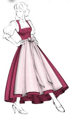 Models, Cinderella, Aurora Sleeping Beauty, Couture, Disney Princess, Disney Characters, Pictures, Dirndl Blouse, Fabric Patterns