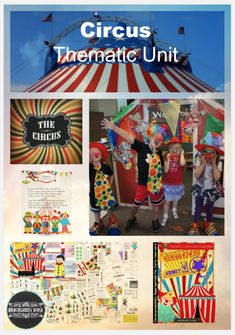 Circus thematic fun for Kindergarten and Pre K