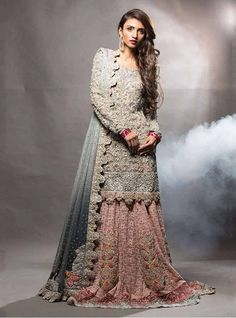 Pakistani Bridal Wedding Lehenga Designs 2017 For Barat