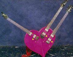 Steve Vai's famous heart guitar