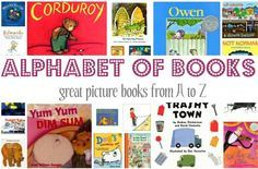 A list of 26 great picture books , one for each letter of the alphabet complete with reviews.