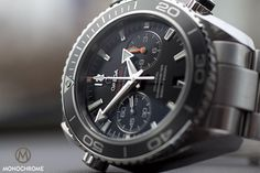 Omega Seamaster Planet Ocean Chrono reviewed - Monochrome Watches