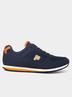 Fila Men Navy Lifestyle Shoes On LooksGud.in   #Fila, #Navyblue, #Lifestyleshoes