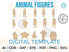 ANIMAL Figures for LASERCUT cut files clipart Silhouette Dxf | Etsy Cnc Router Plans, Woodworking Plans, Microsoft Word, Vinyl Sticker Paper, Vinyl Decals, Silhouette Cameo, Joker, Vinyl Labels, Party Banners