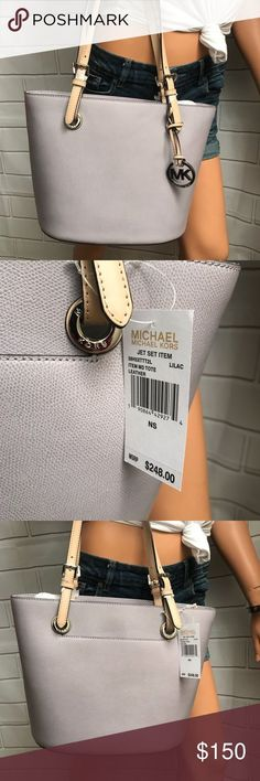 Spotted while shopping on Poshmark: NWT Michael Kors lilac Tote Bag! #poshmark #fashion #shopping #style #Michael Kors #Handbags (scheduled via http://www.tailwindapp.com?utm_source=pinterest&utm_medium=twpin)