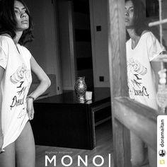 Repost @doramaitan  #tshirt #mono #monomaglieriaartigianale #beautiful #model #girl #proud #alexaldegheriphotographer #picoftheday #blackandwhite