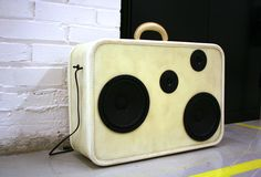 speaker suitcase perf for an indie film