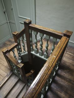 Servant's Staircase at Ham House, Richmond-upon-Thames
