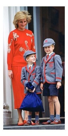 Princess Diana, Prince William and Harry by Marilyn_Monroe_Wanna_Be