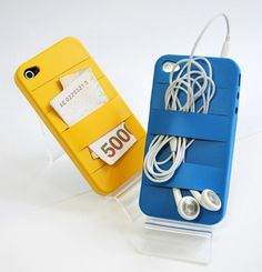 Elasty silicone iPhone case with slits 2