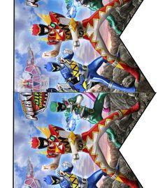 Daisy Celebrates!: Power Rangers Dino Super Charge Birthday Party Printable Files