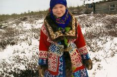 Khanty traditional clothes