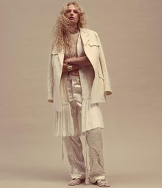 Frederikke Sofie is photographed by Daniel Jackson for WSJ Magazine March 2016. Styled by Alastair McKimm. Hair by Cim Mahony. Make-up by Romy Soleimani.