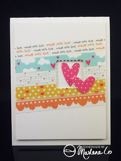 D world of Marlene: Playing with Washi Tapes