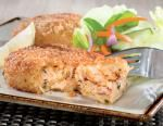 Maine's Finest Crab cakes - 80% crab meat - with a touch of seasonings that complement the naturally delicious flavor of crab.