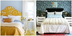 14 ideas de cabeceros DIY tapizados - Contenido seleccionado con la ayuda de http://r4s.to/r4s